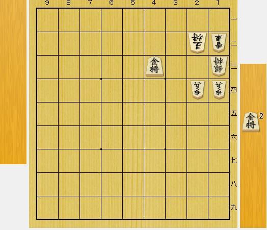 3手詰め詰将棋:第2問