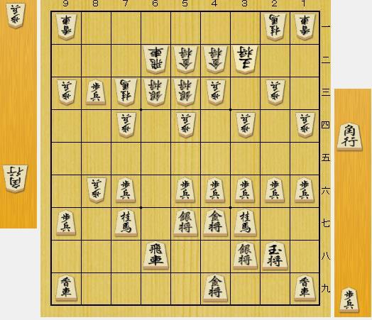 (問題図は前問の▲8三歩に△6ニ飛とした局面です。)