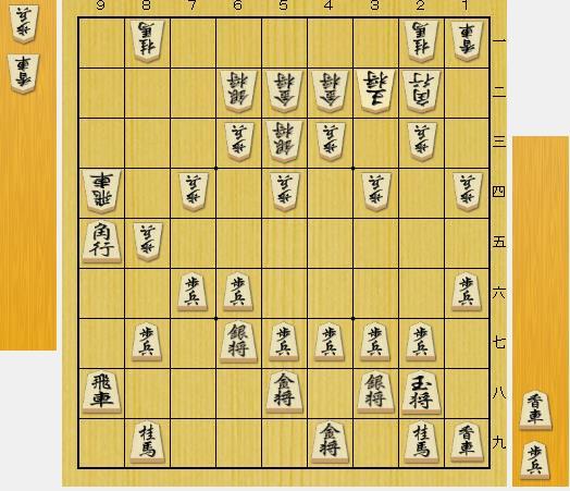 (問題図は前問の正解図から△8四飛、▲9五香、△同香、▲同角、△9四飛と進んだ局面です。)