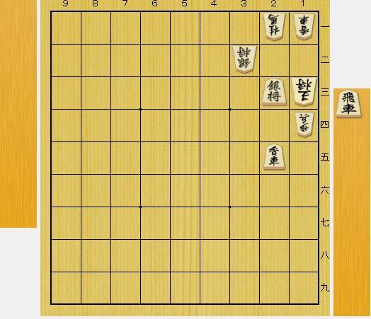 3手詰め詰将棋-第1問