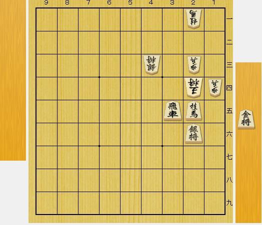 3手詰め詰将棋-第3問