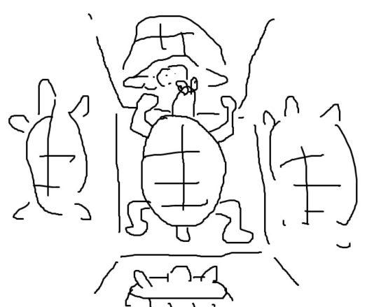 亀の鏡部屋