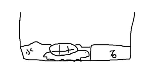 亀と水の量