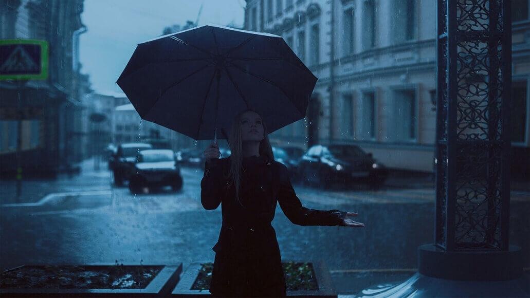 雨の時に散歩をするとメリットがありすぎる件について【てくてくてく】
