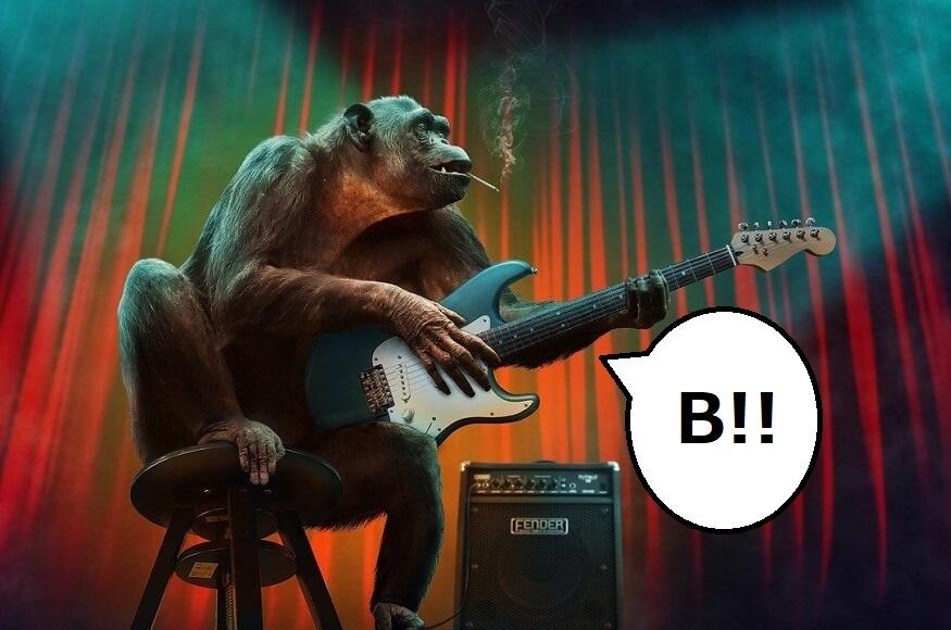 【簡単にできる】ギター「B」コードの押さえ方は3つのコツで完璧です