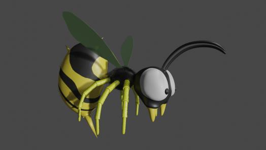 ドンキーコングのハチ
